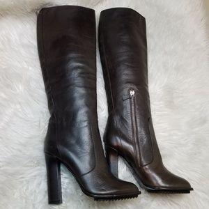 Lanvin 2010 Leather Heel boots $1,425 sz 38